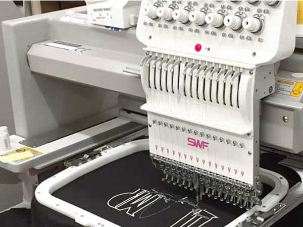 Embroidery Process - Machine